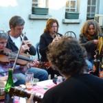 Irish session, Tousson